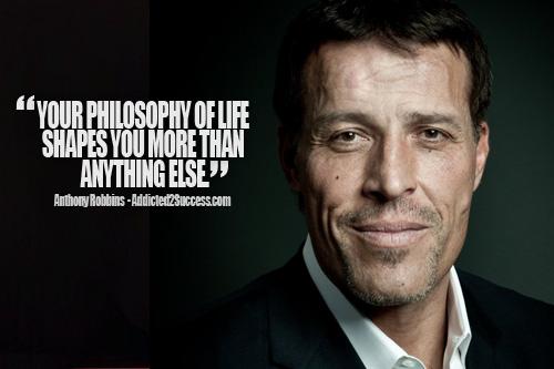 Tony robbins change quotes inspirational